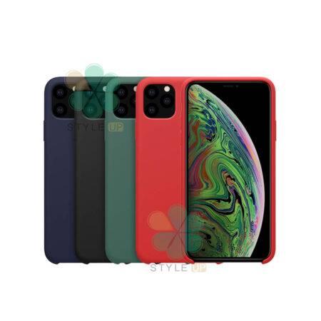 خرید قاب سیلیکونی نیلکین گوشی آیفون iPhone 11 Pro Max مدل Flex Pure