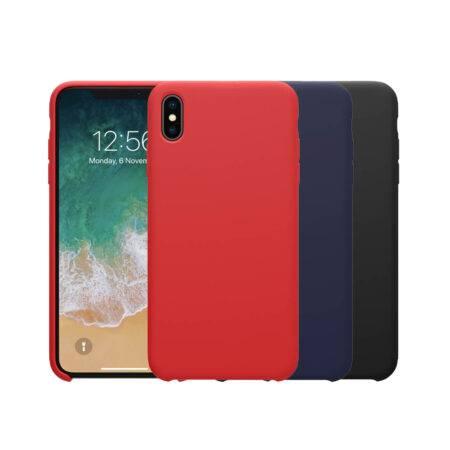 خرید قاب سیلیکونی نیلکین گوشی آیفون iPhone XS Max مدل Flex Pure