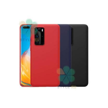 خرید قاب سیلیکونی نیلکین گوشی هواوی Huawei P40 Pro مدل Flex Pure