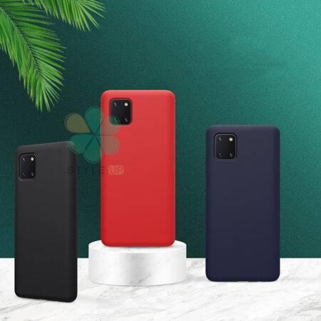 خرید قاب سیلیکونی نیلکین گوشی سامسونگ Galaxy Note 10 Lite مدل Flex Pure