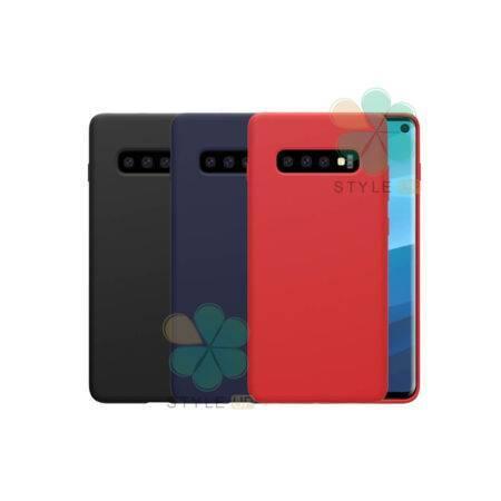 خرید قاب سیلیکونی نیلکین گوشی سامسونگ Galaxy S10 مدل Flex Pure