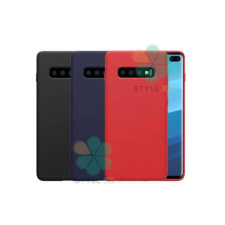 خرید قاب سیلیکونی نیلکین گوشی سامسونگ Galaxy S10 Plus مدل Flex Pure