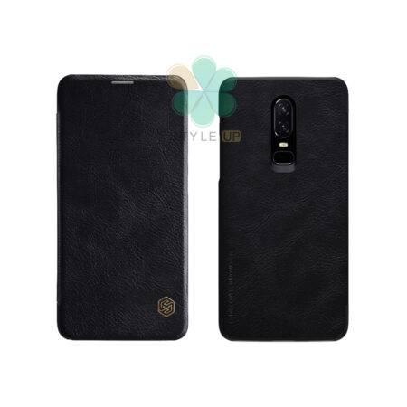 خرید کیف چرمی نیلکین گوشی وان پلاس 6 - OnePlus 6 مدل Qin