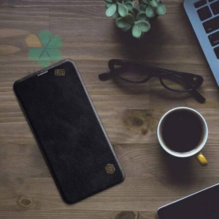 عکس کیف چرمی نیلکین گوشی وان پلاس 6 - OnePlus 6 مدل Qin