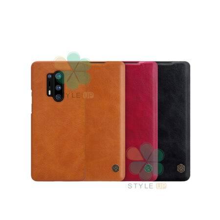 خرید کیف چرمی نیلکین گوشی وان پلاس OnePlus 8 Pro مدل Qin