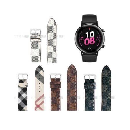 خرید بند ساعت هواوی Huawei Watch GT 2 42mm طرح لویی ویتون