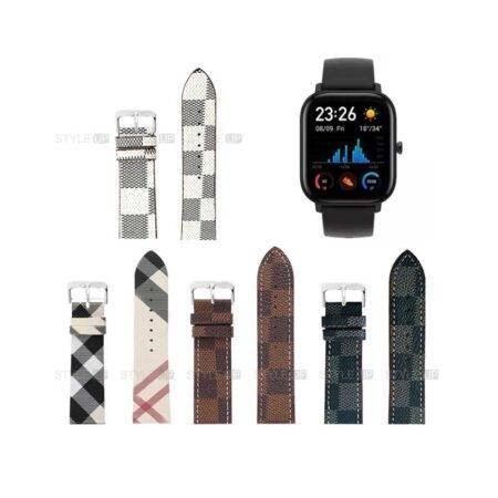 خرید بند ساعت شیائومی Xiaomi Amazfit GTS طرح لویی ویتون