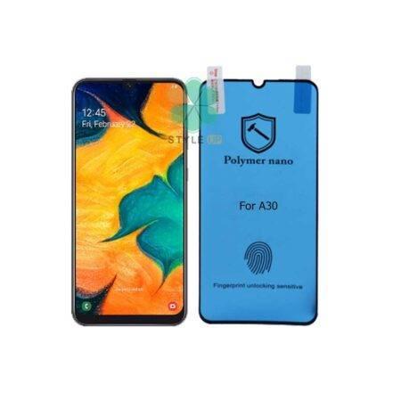خرید محافظ صفحه گلس گوشی سامسونگ Galaxy A30 مدل Polymer nano