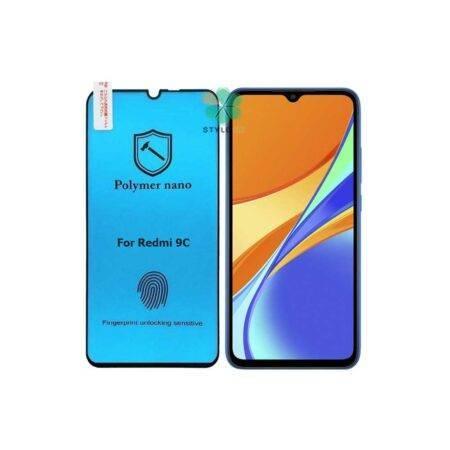 خرید محافظ صفحه گلس گوشی شیائومی Redmi 9C مدل Polymer nano