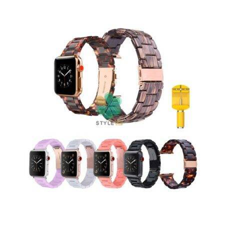 خرید بند ساعت اپل واچ Apple Watch 38/40mm مدل رزینی
