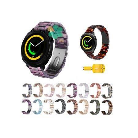 خرید بند ساعت هوشمند سامسونگ Samsung Gear Sport مدل رزینی