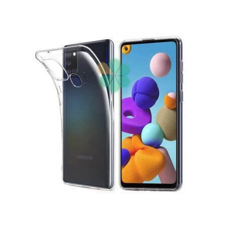 خرید قاب گوشی سامسونگ Samsung Galaxy A21s مدل ژله ای شفاف