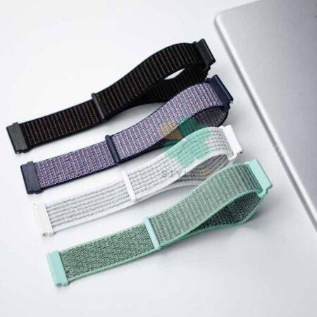 عکس بند ساعت سامسونگ Galaxy Watch Active مدل نایلون لوپ