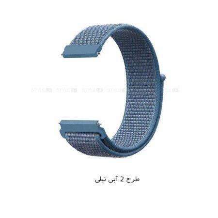 خرید بند ساعت سامسونگ Galaxy Watch Active مدل نایلون لوپخرید بند ساعت سامسونگ Galaxy Watch Active مدل نایلون لوپ