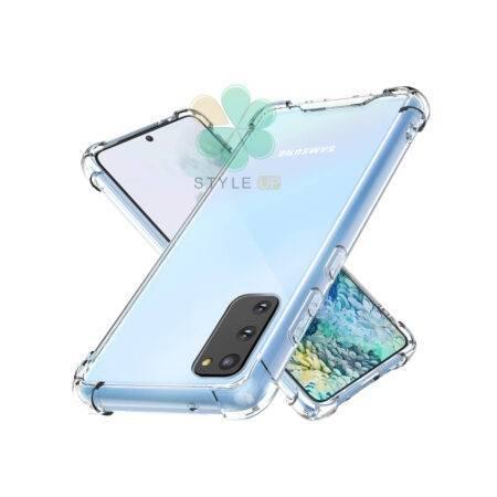 تصویر قاب ژله ای گوشی سامسونگ Galaxy S20 / 5G مدل کپسول دار