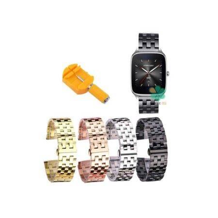 خرید بند ساعت هوشمند ایسوس Asus Zenwatch 2 Wi501Q استیل 5Bead