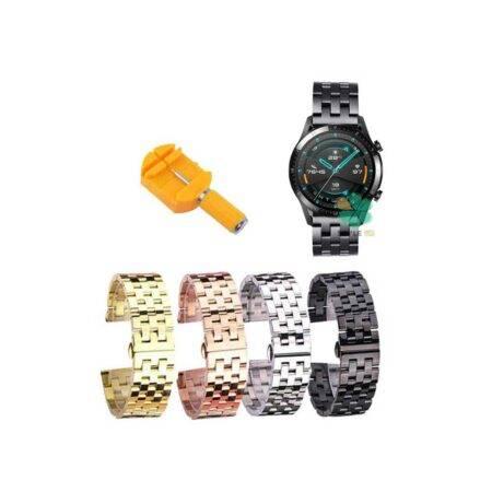 خرید بند ساعت هوشمند هواوی Huawei watch Gt 2 46mm استیل 5Bead