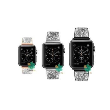 خرید بند استیل ساعت اپل واچ Apple Watch 42/44mm مدل سواروسکی