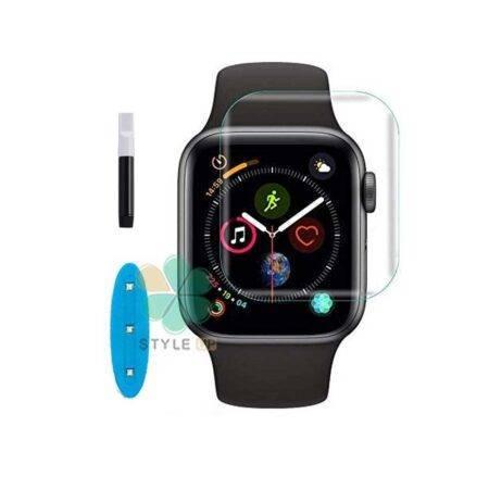 خرید محافظ صفحه گلس UV ساعت اپل واچ Apple Watch 40mm