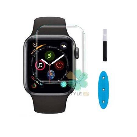 خرید محافظ صفحه گلس UV ساعت اپل واچ Apple Watch 44mm