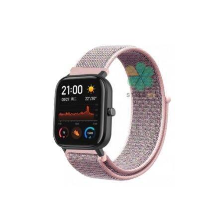 خرید بند ساعت شیائومی Xiaomi Amazfit GTS مدل نایلون لوپ