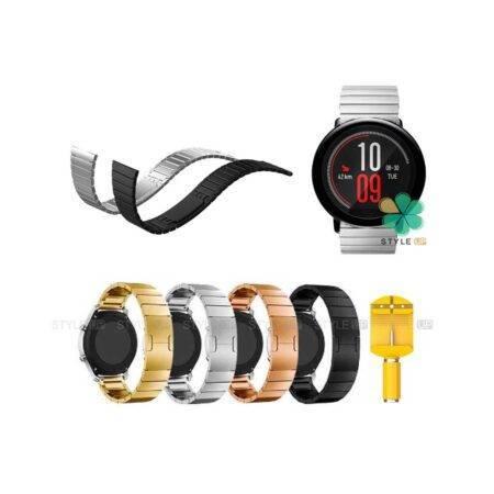 خرید بند فلزی ساعت شیائومی Xiaomi Amazfit Pace مدل Link Bracelet