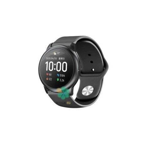 خرید بند سیلیکونی ساعت شیائومی Xiaomi Haylou Solar LS05 مدل دکمه ای
