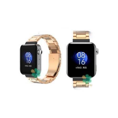 عکس بند ساعت هوشمند شیائومی Xiaomi Mi Watch استیل 3Pointers