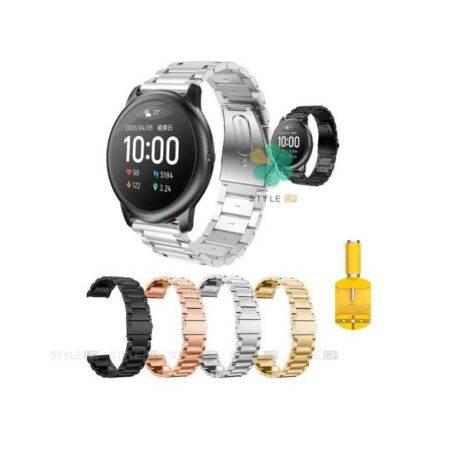خرید بند ساعت شیائومی Xioami Haylou Solar LS05 استیل 3Pointers