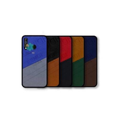 خرید قاب چرمی گوشی سامسونگ Samsung Galaxy A60 مدل Fendi Roma