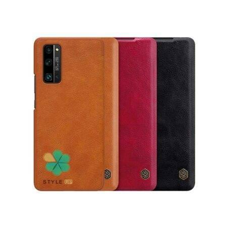 خرید کیف چرمی نیلکین گوشی هواوی آنر Huawei Honor 30 Pro Plus مدل Qin