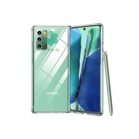 خرید قاب گوشی سامسونگ Samsung Galaxy Note 20 مدل ژله ای شفاف