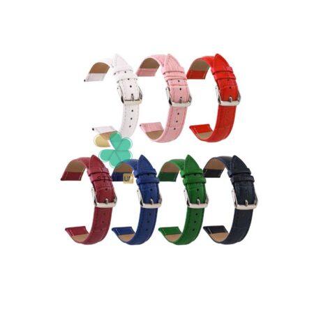 خرید بند چرمی ساعت سامسونگ Galaxy Watch 3 45mm طرح Alligator