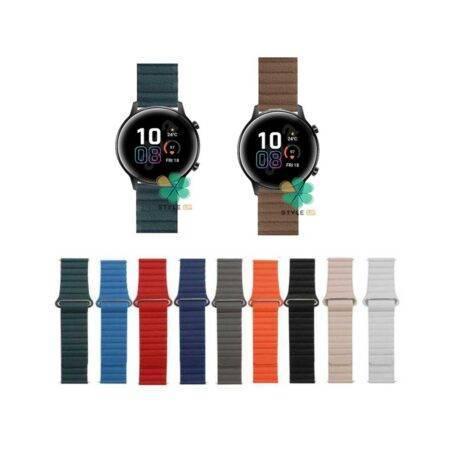 خرید بند چرمی ساعت هواوی Honor MagicWatch 2 42mm مدل Leather Loop