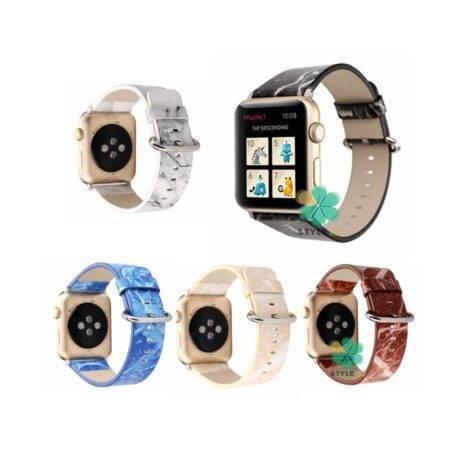 بند ساعت هوشمند اپل واچ Apple Watch 42/44mm طرح سنگ