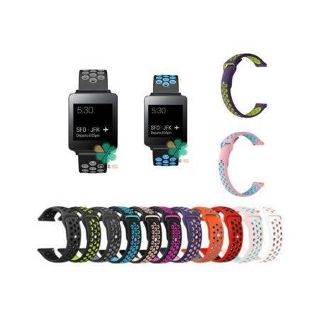 خرید بند ساعت ال جی LG G Watch W100 سیلیکونی نایکی