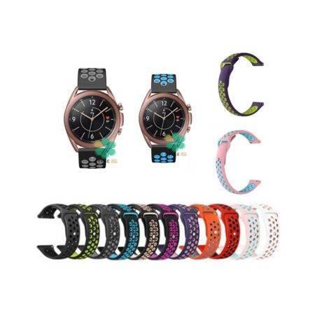 خرید بند ساعت سامسونگ Galaxy Watch 3 41mm سیلیکونی نایکی