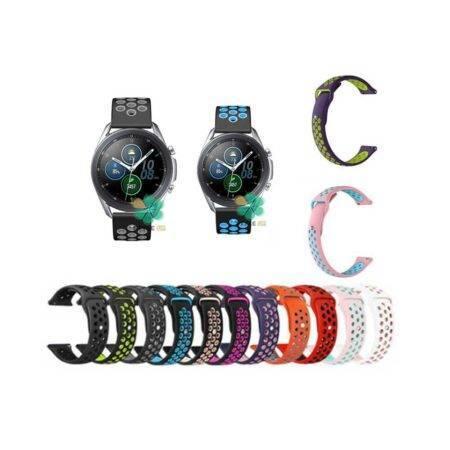 خرید بند ساعت سامسونگ Galaxy Watch 3 45mm سیلیکونی نایکی
