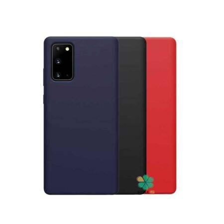 خرید قاب سیلیکونی نیلکین گوشی سامسونگ Galaxy Note 20 مدل Flex Pure