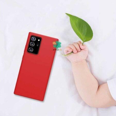 خرید قاب سیلیکونی نیلکین گوشی سامسونگ Galaxy Note 20 Ultra مدل Flex Pure