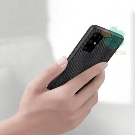 عکس قاب نیلکین گوشی سامسونگ Galaxy S20 Plus مدل Textured Nylon