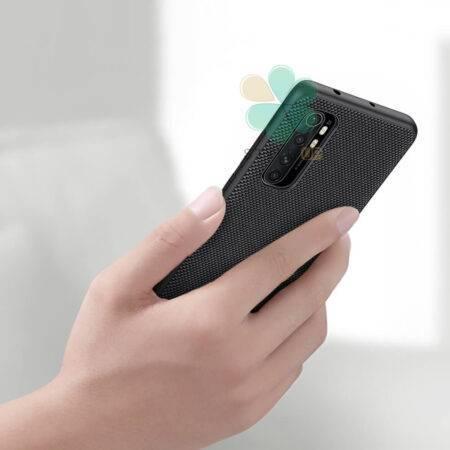 عکس قاب نیلکین گوشی شیائومی Mi Note 10 Lite مدل Textured Nylon