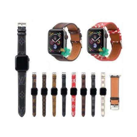 خرید بند ساعت اپل واچ Apple Watch 38/40mm طرح لویی ویتون