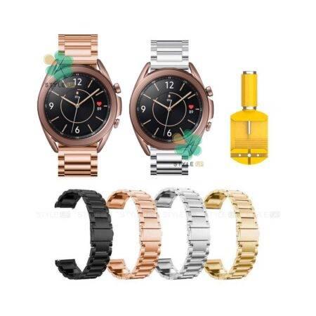 خرید بند ساعت سامسونگ Samsung Galaxy Watch 3 41mm استیل 3Pointers