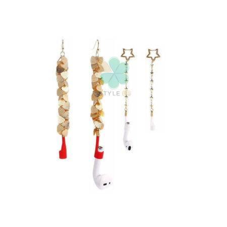 خرید بند نگهدارنده هندزفری اپل ایرپاد Airpods مدل Silicone Earring