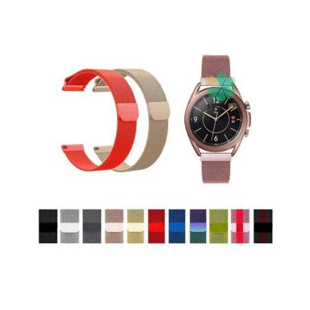خرید بند استیل ساعت سامسونگ Galaxy Watch 3 41mm مدل New Milanese