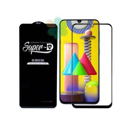 خرید گلس گوشی سامسونگ Samsung Galaxy A31 تمام صفحه Super D