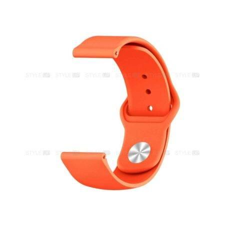خرید بند سیلیکونی ساعت شیائومی Amazfit GTR 42mm مدل دکمه ای