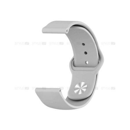 خرید بند سیلیکونی ساعت شیائومی Amazfit GTR 47mm مدل دکمه ای