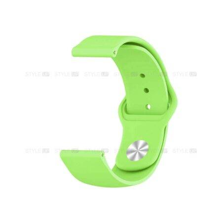 خرید بند سیلیکونی ساعت شیائومی Xiaomi Amazfit GTS مدل دکمه ای